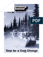 US Field Artillery Journal 1986