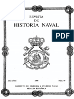 Revista de Historia Naval Nº70. Año 2000