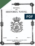 Revista de Historia Naval Nº73. Año 2001