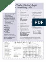 2013 schs membership form