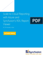 Syncfusion SQL Azure Reporting WP