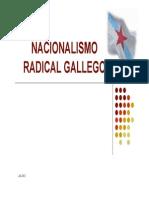 Nacionalismo Gallego y Terrorismo