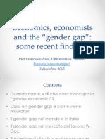 Lezione Su Gender and Economics.2013(Area Giuridica e Conomica)