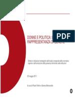 P. Feltrin, S. Lemoncello, La Rappresentanza Di Genere(Storico Politico)