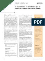 Diabetes Mellitus, tratamiento y control de la glucemia en Medicina Familiar
