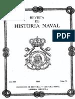 Revista de Historia Naval Nº74. Año 2001
