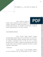 (154306322) Modelo de imissão de posse