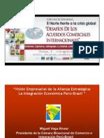 Integración econonica Peru-Brasil - AMPEX, Foro Macroregional