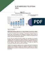 Estructura de Mercado Telefonia Fija en El Peru