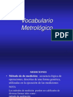 Curso de Metrolgia y Calibr Vocabulario Metrolog