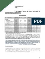 2013-2-21_CES_4Q2012_Press_Release