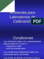 Curso Metrología y Calibración ambientes para labs calib