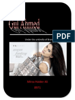 36664052 Gul Ahmed Brand Management Term Report