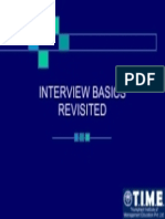 Interview Basics Gdpi