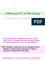 CRM and 4 P's of Marketing