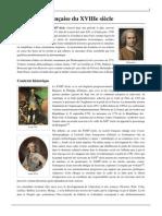 litterature francaise du xviiie sicle