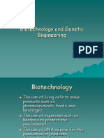 Biotechnology and Genetic Engineering (3)