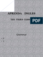 03 PPT - APRENDAMOS INGLES  - 2009 Lesson THREE.pptx
