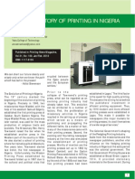 A Brief History of Printing in Nigeria