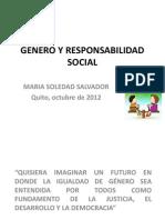 Género y Responsabilidad Social