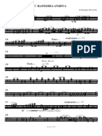 Andean Rhapsody G. Russolo.contrabbasso Music Score