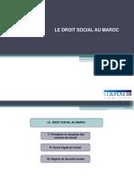 Droit Social Au Maroc - Prsentation Au Public s