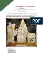 Hermes Trismegistus in Siena Cathedral