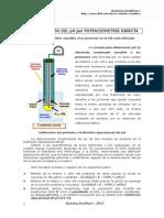 Definicional Operacional Del pH