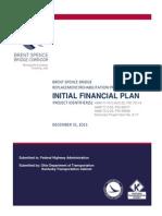Brent Spence Bridge Financing Plan
