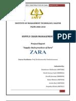 Supply Chain Practices at 'Zara'