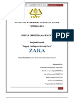 Supply Chain Practices at 'Zara'