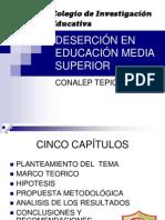 Tesis en Diapositivas Cie