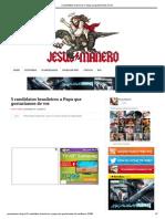 5 candidatos brasileiros a Papa que gostaríamos de ver
