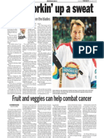 Glenn Anderson, Keeping Fit, Sun Media (March 19, 2007)