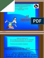 Diapositivas La Obediencia