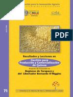 Gestion Para Produccion y Comercializacion de Quinoa
