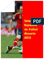 F SEF / Anuario 2013