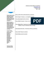 Agenda - PSAC