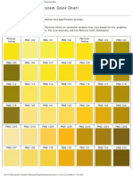 full pantone solid coated color chart