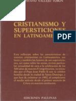 Cristianismo y Supersticiones en Latinoamerica