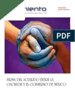 Firma del Acuerdo entre la OACNUDH y el Gobierno de México