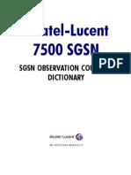 SGSN Counters U321 Ed10