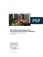Cisco IOS Command Reference for Cisco Aironet Access Points and Bridges