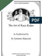 The Art of Kaya Kalpa