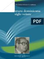 Inchaustegui - De Literatura Dominicana Siglo Veinte
