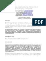 EL LABORATORIO DE LA LEY DE HOOKE COMO ESCENARIO PARA LA RESIGNIFICACIÓN DE LA FUNCION LINEAL