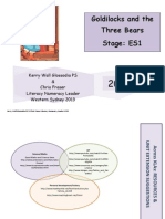 Goldilocks and the Three Bears ES1