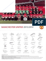 Manchester United - Team pic 2013 - 2014