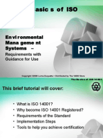 Basics of ISO 14001