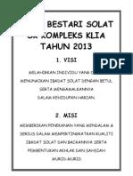 KELAB BESTARI SOLAT 2013